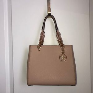 e35040353830 ... tote Michael Kors Cynthia small leather satchel ...